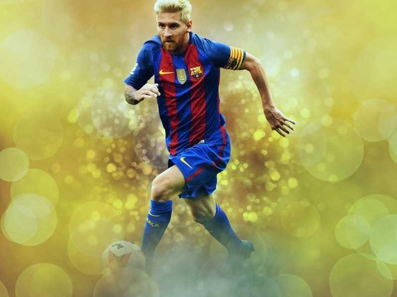 Lionel Messi Suskses Pecahkan Rekor Pele di Laga Valldolid